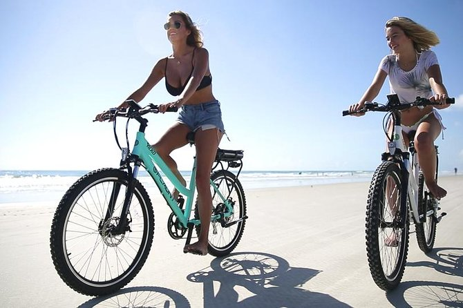 Full Day Electric Bike Rental with Helmet and Charger Included