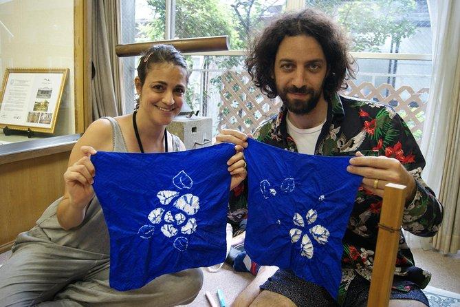 Kasamaki and Nuishime Shibori Wrapping Cloth Class