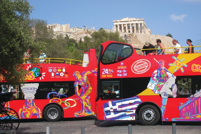 City Sightseeing Athens & Beach Riviera Hop-On Hop-Off Bus Tour