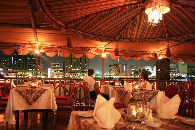 Evening Dhow Dinner Cruise in Dubai