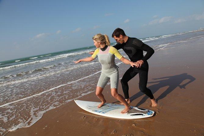 Maui Surf Instruction 101 at Kalama Beach in Kihei