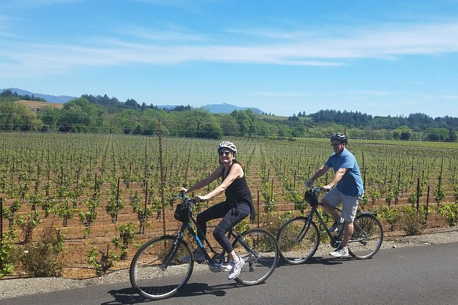 Sonoma Valley Full-Day Pedal Assist Bike Tour with Lunch - (Reg. Bike Optional)