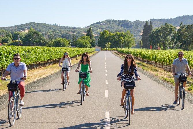 Sonoma Valley Half-Day Pedal Assist Bike or Regular Bike Tour