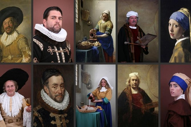 Become a Dutch Art Piece Photo Shoot in Amsterdam