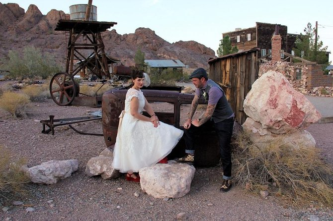 Wedding Ceremony: Nelson Ghost Town