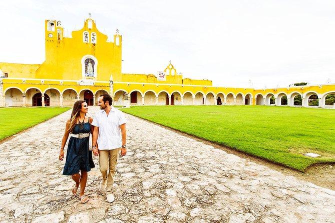 Private Day Trip:Izamal, Aké & Cenote Yokdzonot from Merida by Yucatan Concierge