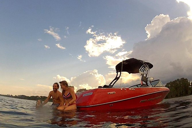 Waterski Wakeboard and Tubing Charter from Lake Buena Vista Area