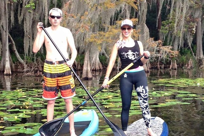 1-Hour Stand Up Paddleboard Rental from Lake Buena Vista Area