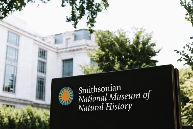 Smithsonian Museum of Natural History Guided Tour - 8ppl Max