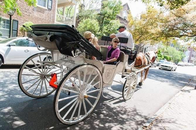 Private Daytime or Evening Horse-Drawn Carriage Tour of Historic Charleston