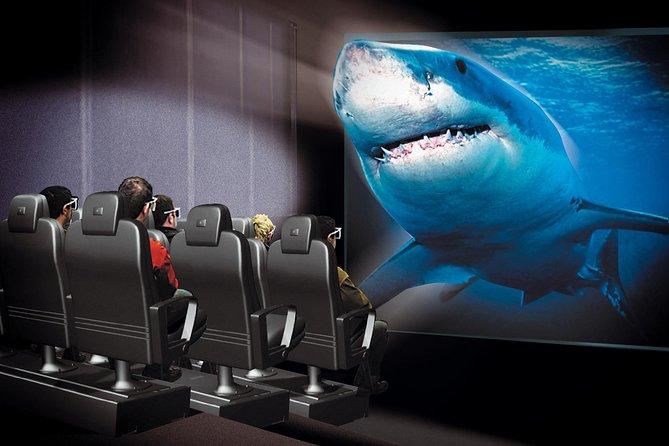 Skip the Line: Antalya Aquarium and XD Cinema Combo Ticket with Transfer Upgrade