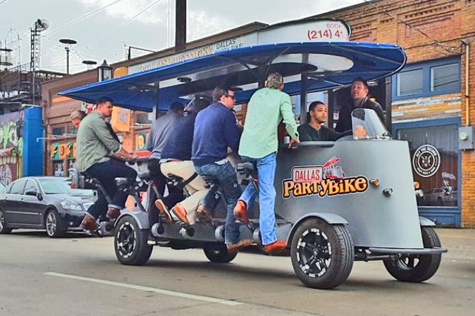 Party Bike Pub Crawl in Deep Ellum and Downtown Dallas