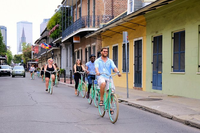 New Orleans Heart of the City Small-Group Bike Tour