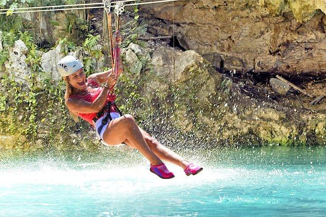 Tripadvisor Zipline Mega Splash At Bavaro Adventure Park Provided By Bavaro Adventure Park Dominican Republic Caribbean