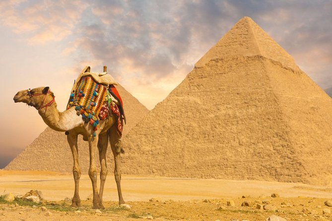 Half Day Tour Adventure for the Pyramids Sphinx 45 Minutes Camel Ride
