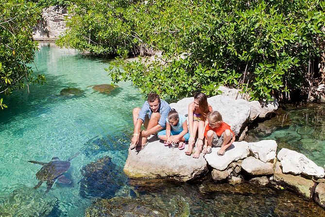 Xcaret Park Admission Ticket with Underground River Activities Included