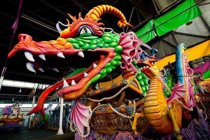 New Orleans Mardi Gras World Behind The