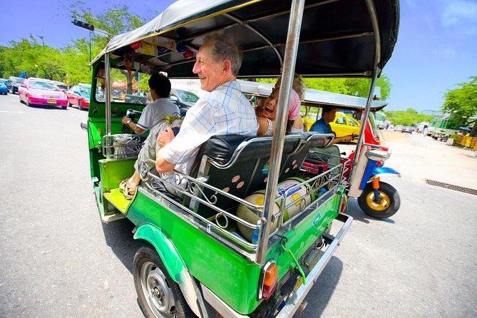 Bangkok in Motion: City Highlights Tour by Skytrain, Boat, and Tuk-Tuk