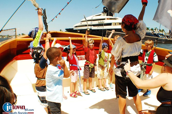 1-Hour Interactive Pirate Cruise in Ft. Lauderdale (arrive 30 minutes early)