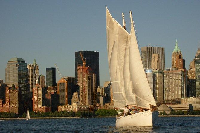 New York Sunset Schooner Cruise on the Hudson River