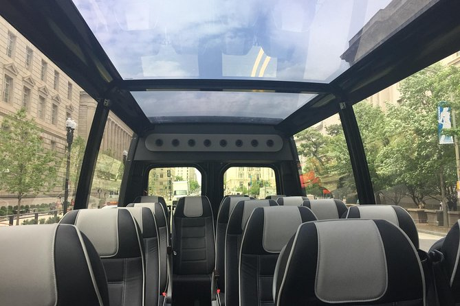 Glass-Top or Open-Top Convertible Bus Tour of DC