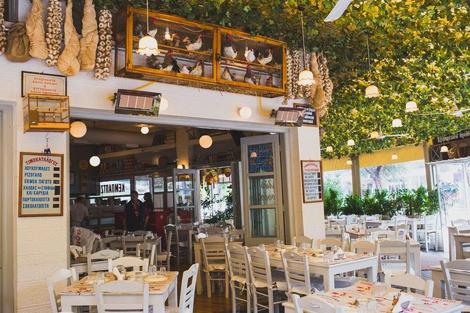 Traditional Dinner in a Greek Tavern