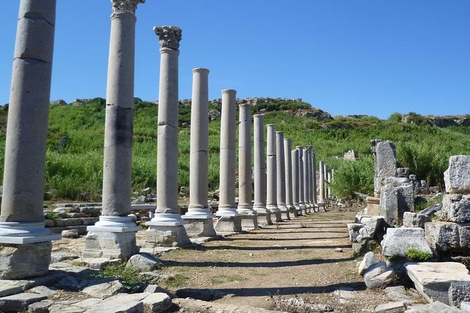 Perge,Aspendos,Side and Waterfall (sightseeng)