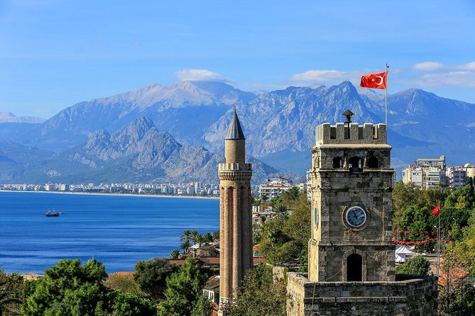Cıty Tour Of ANTALYA with cable car. (the place to be seen)