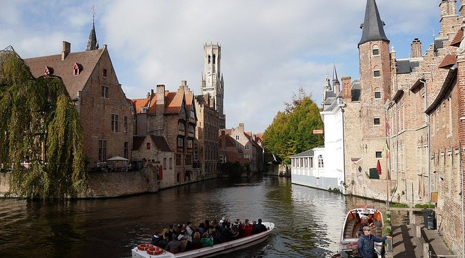 Private tour : Treasures of Flanders Ghent and Bruges from Brussels Full day