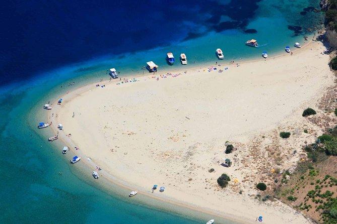 Zakynthos Keri Caves, Marathonissi, and Turtle-Spotting Kaiki Boat Trip