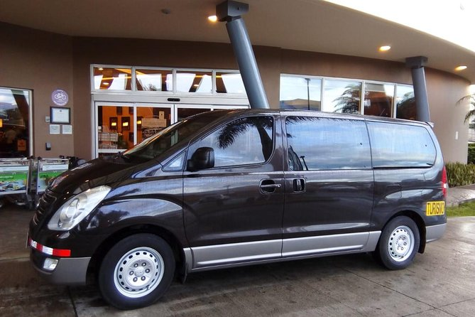 Transfer from Playas del Coco to SJO Airport or San José up to 5 passengers