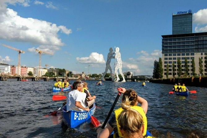 Explore Berlin by canoe