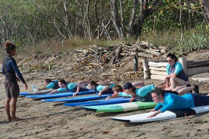 Private Surf Lessons @ Playa Grande National Park