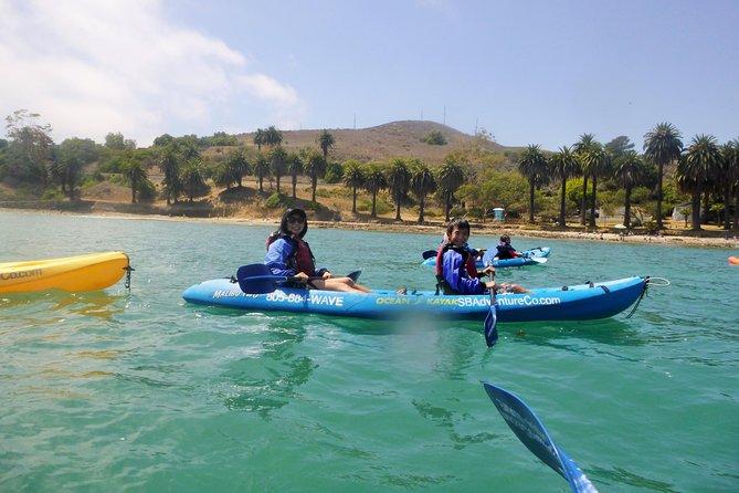Coastline Kayak Tour near Santa Barbara