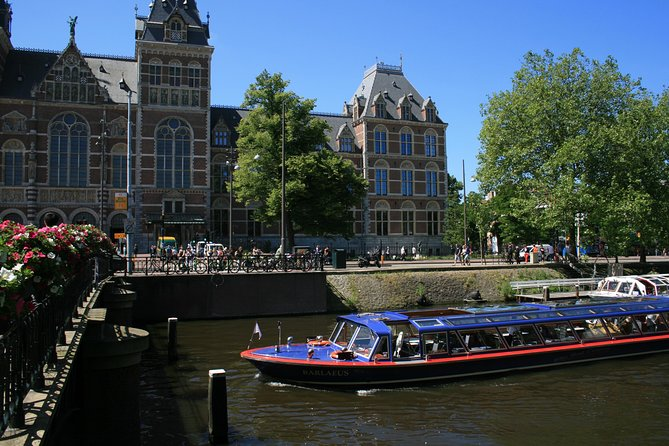 Blue Boat Company City Canal Cruise and Rijksmuseum