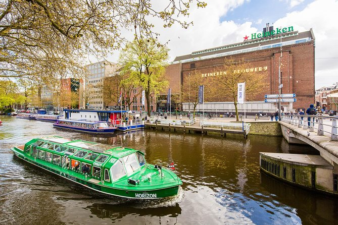 Blue Boat Amsterdam Canal Cruise and Heineken Experience