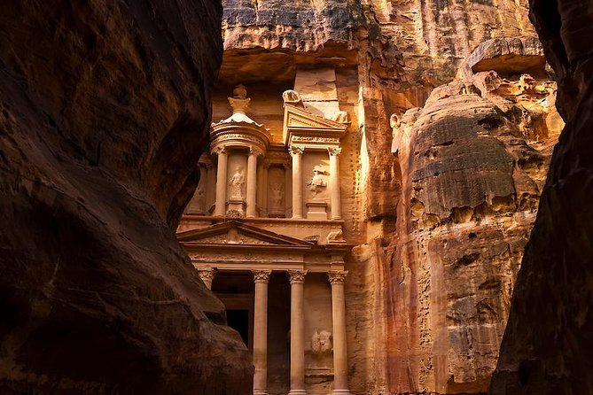 Private Petra Tour from Aqaba City Hotels with Local Petra Guide Included