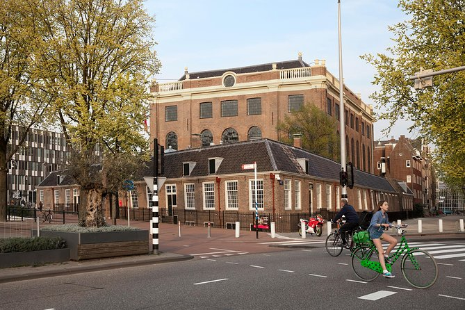 Anne Frank Walking Tour & entrance to the Jewish Cultural Quarter