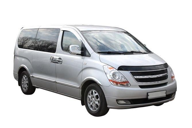 Transfer in private minivan from San Diego Airport (SAN) to San Diego Downtown