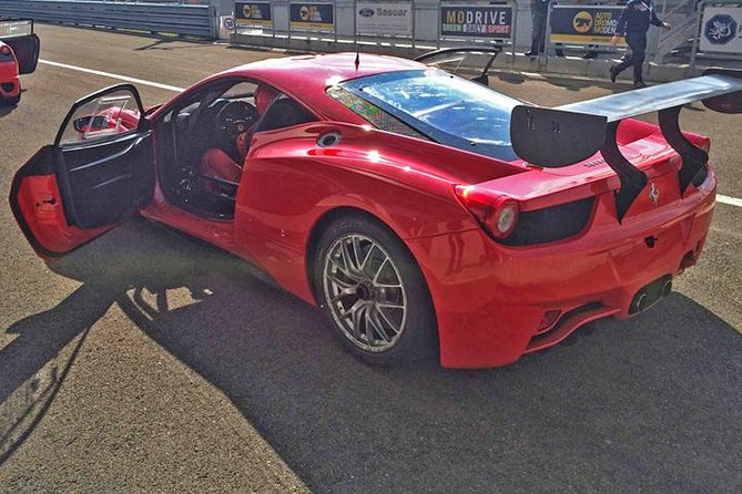 Ferrari Driving Experience on a Racetrack