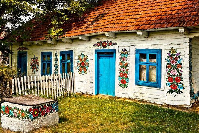 Zalipie- painted village, private tour from Krakow