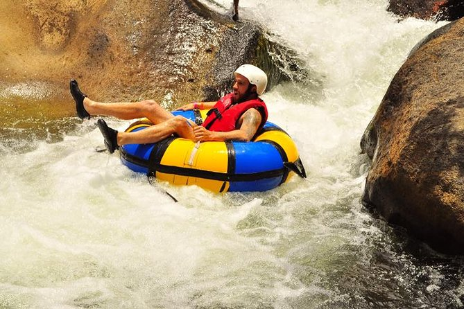 Combo Zip Line Tour and River Tubbing from Guanacaste