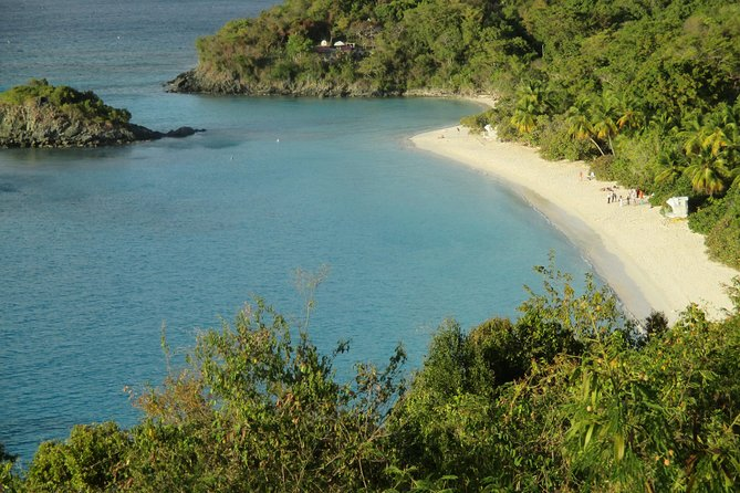 St John Island and Trunk Bay Beach Tour from St Thomas