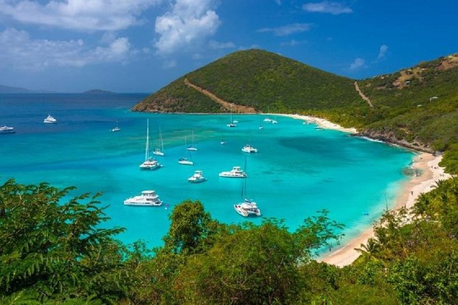 Trunk Bay Beach from St. Thomas Private Driver