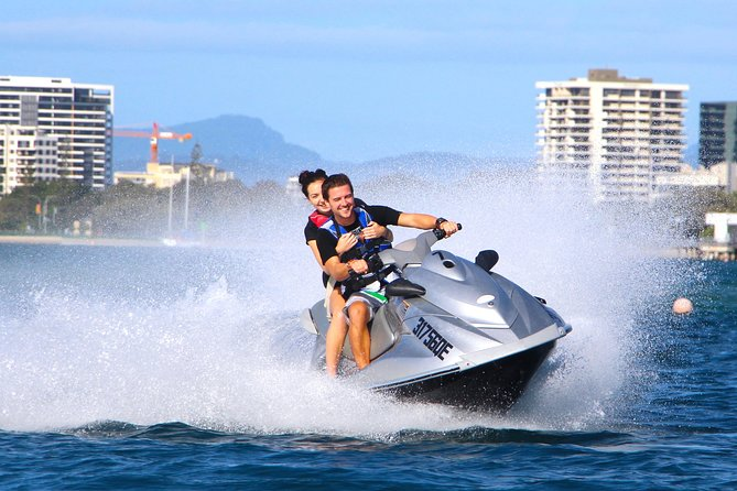 2hr Jet Ski Tour on the Gold Coast - NO LICENCE NEEDED. NON STOP JETSKIING