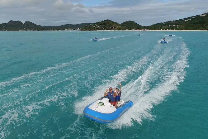 Self-Driven Boat Tour and Snorkeling in Antigua