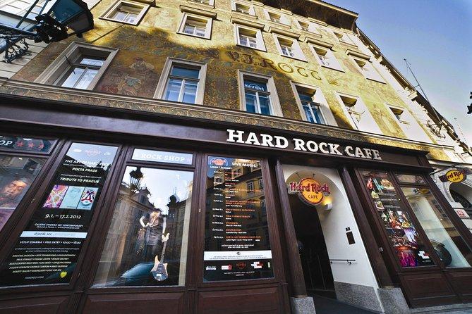 Skip the Line: Hard Rock Cafe Prague Including Meal