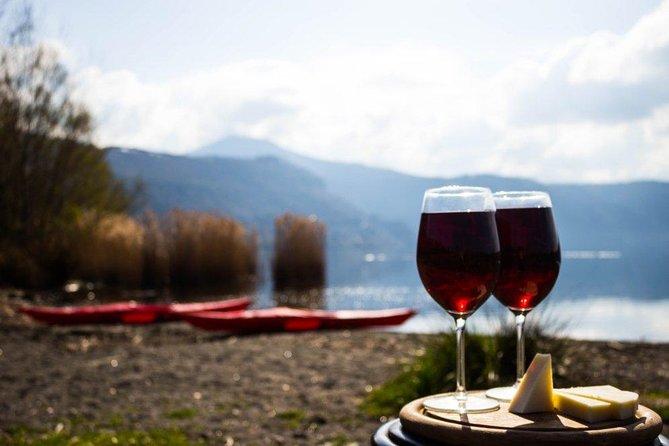 Castel Gandolfo Kayak Tour with Wine and Food Tasting