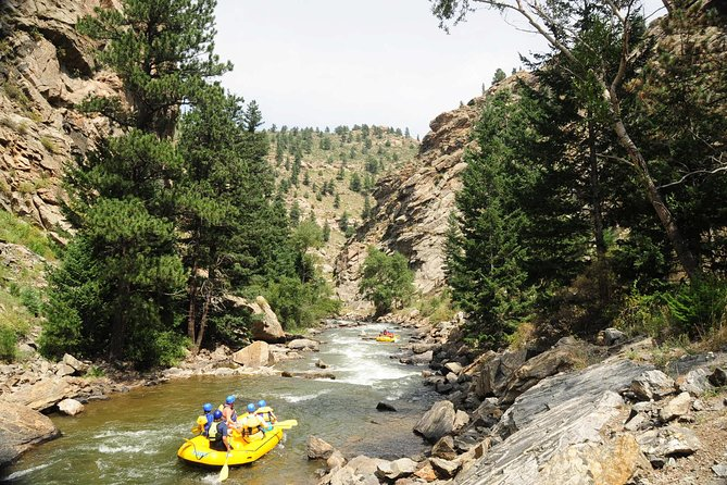 Gold Rush Rafting plus Cliffside Zipline from Idaho Springs