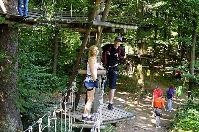 Adventures in Park Aventura Brasov